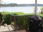BBQ looking over Pittwater