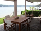 Balcony overlooking Pittwater