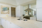 Ocean Road- Sleek caeser stone kitchen