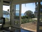 Sun room flows to balcony